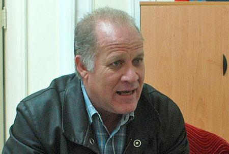 El viceministro de Cultura, Fernando Rojas.