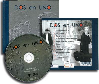 Disco-libro «Dos en uno» de Inés Fonseca.