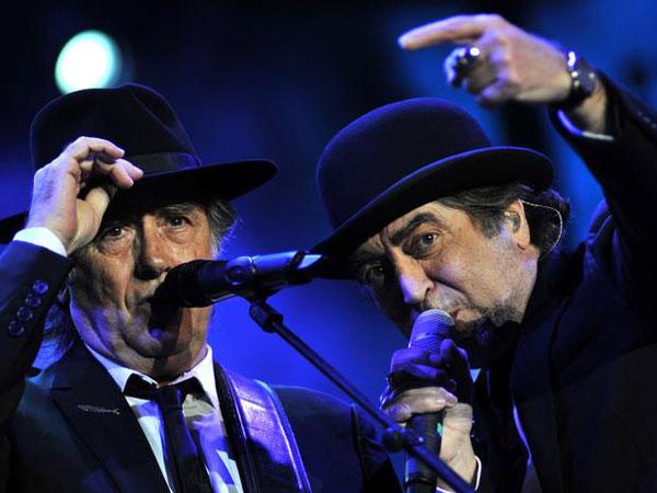 Joan Manuel Serrat y Joaquín Sabina. © UPI