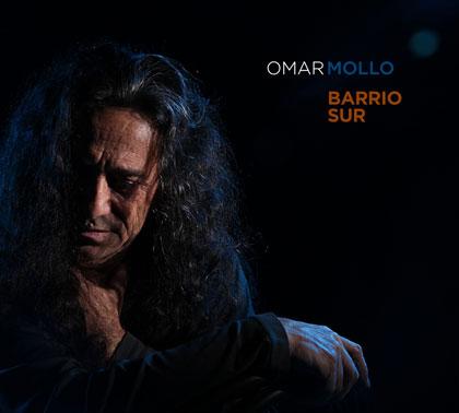 Portada del disco «Barrio Sur» de Omar Mollo.