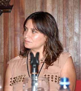 Francisca Gavilán en Cuba.