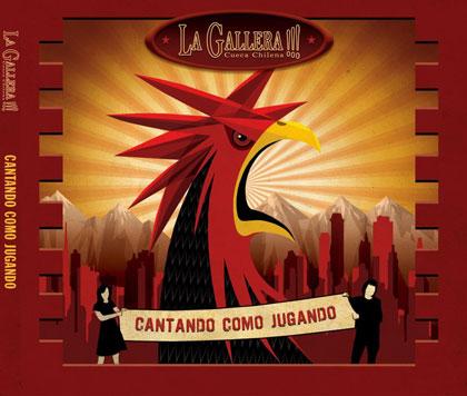 Portada del disco «Cantando como jugando» de La Gallera.
