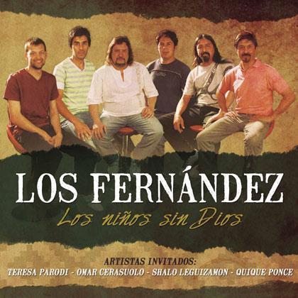 Portada del disco «Los niños sin Dios» de Los Fernández.