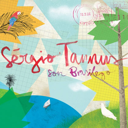 Portada del disco «Son brasilego» de Sergio Tannus.