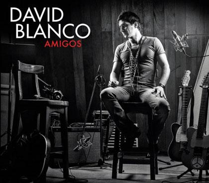 Portada del disco «Amigos» de David Blanco.