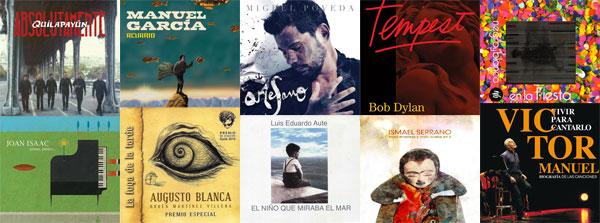 Diez discos imprescindibles del 2012