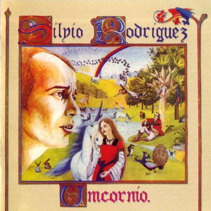 Portada definitiva del disco «Unicornio» de Silvio Rodríguez.