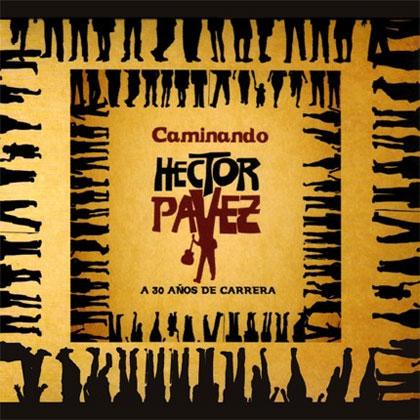 Portada del disco «Caminando» de Héctor Pavez.