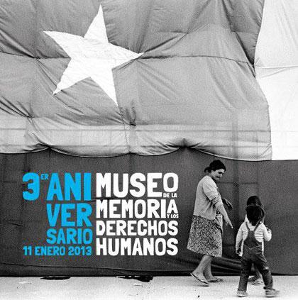 Tercer aniversario Museo de la Memoria y los Derechos Humanos