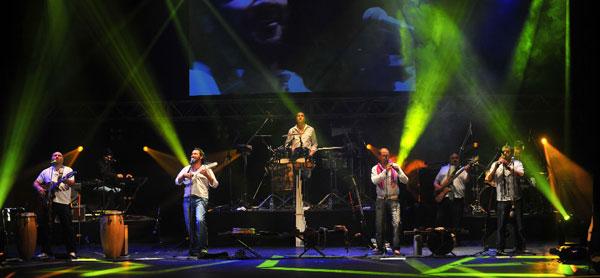 Los Tekis en el 48 Festival Nacional de Doma y Folclore de Jesús María 2013.