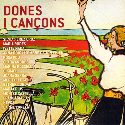 Portada del disco «Dones i cançons».