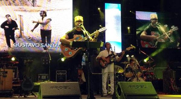 León Gienco en el 48 Festival Nacional de Doma y Folclore de Jesús María 2013. © Radio Jesús María
