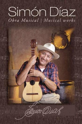 Portada del libro «Simón Díaz. Obra musical».