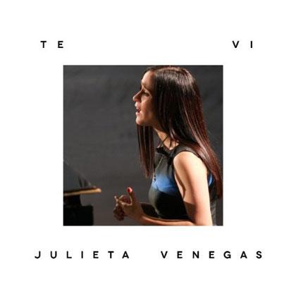 Portada del single «Te vi» de Julieta Venegas.