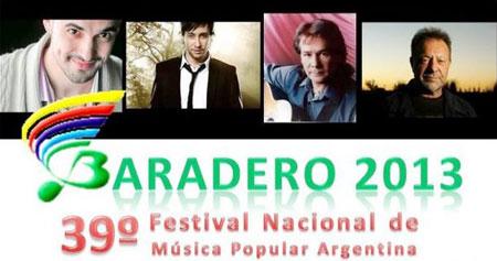 Cartel del 39 Festival de Baradero 2013