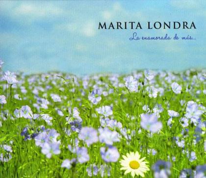 Portada del disco «La enamorada de más» de Marita Londra.
