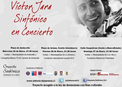 La Orquesta Sinfónica de ULS interpreta a Víctor Jara