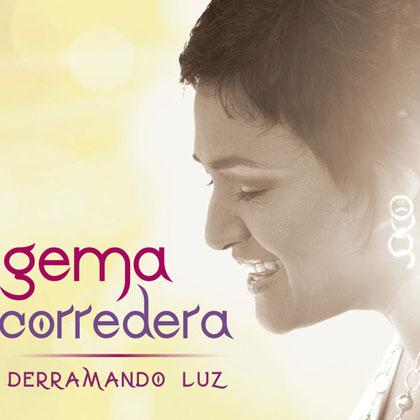 Portada del disco «Derramando luz» de Gema Corredera.