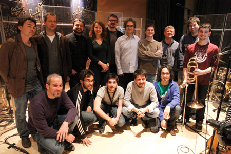 Gemma Abri� + Vicens Martin Dream Big Band