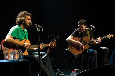 Rafa Pons y Dani Flaco © María José Carpio B.