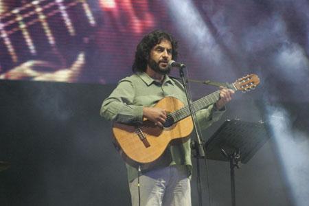 José Ceña en la sexta luna de Cosquín 2013. © Paul Amiune
