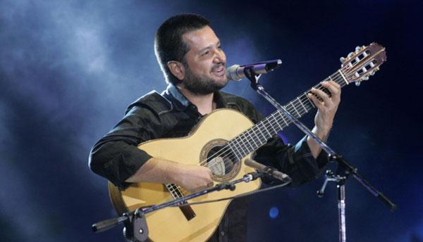 Jorge Rojas en la séptima luna de Cosquín. © Paul Amiune