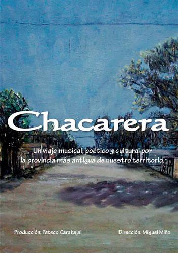 Cartel de la película «Chacarera» de Miguel Miño.