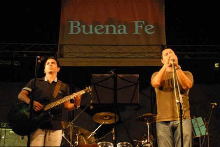 El dúo Buena Fe