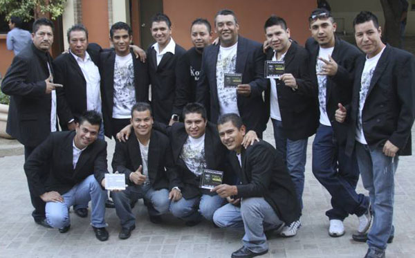 El grupo Kombo Kolombia