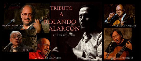 Cocnierto tributo a Rolando Alarcón.