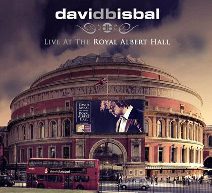 Portada del disco «Live At The Royal Albert Hall» de David Bisbal.