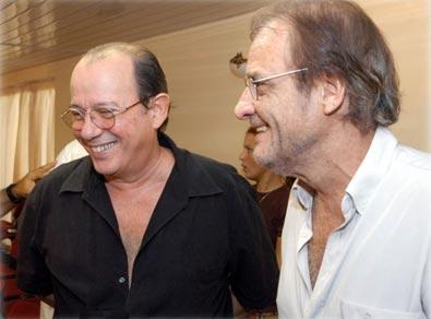 Silvio Rodríguez y Luis Eduardo Aute.