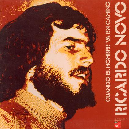 Portada del disco «Cuando el hombre va en camino» de Ricardo Novo