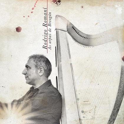 Portada del disco «As arpas de Breogán» de Rodrigo Romaní.