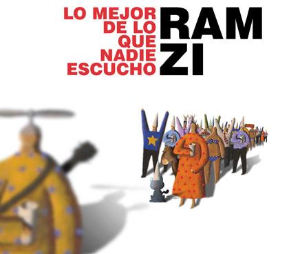 Portada del disco «Lo mejor de lo que nadie escuchó» de Ramzi.