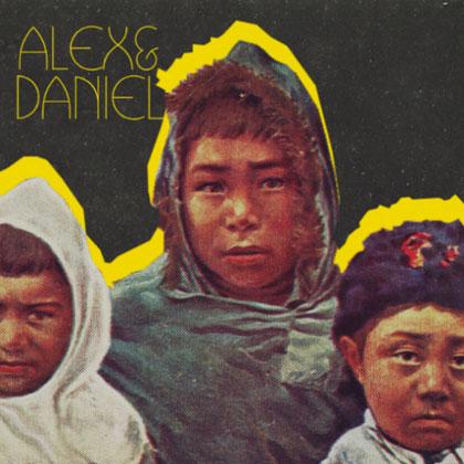 Portada del disco «Alex & Daniel» de Alex Anwandter y Daniel Riveros (Gepe).