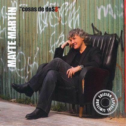 Portada del disco «Cosas de dos» de Mayte Martín.