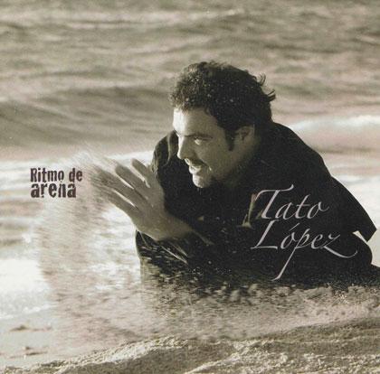 Portada del disco «Ritmo de arena» de Tato López.