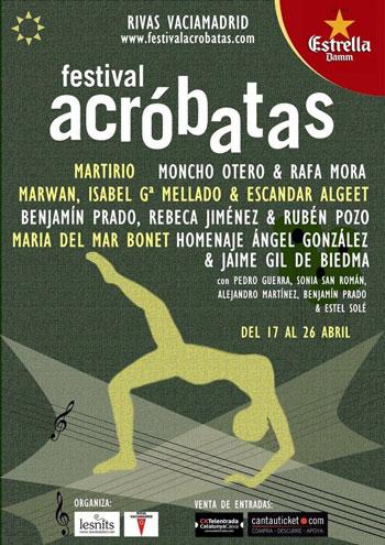 VII Festival Acróbatas Rivas Vaciamadrid 2013