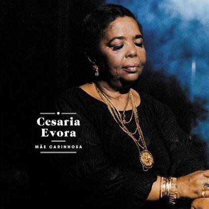 Portada del disco «Mãe Carinhosa» de Cesária Evora.