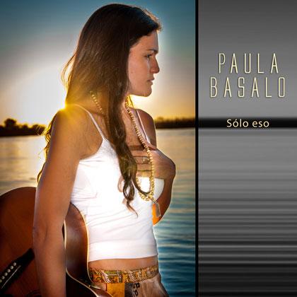 Portada del disco «Sólo eso» de Paula Basalo.