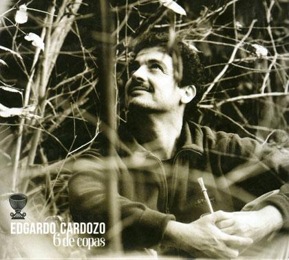 Portada del disco «6 de copas» de Edgardo Cardozo.