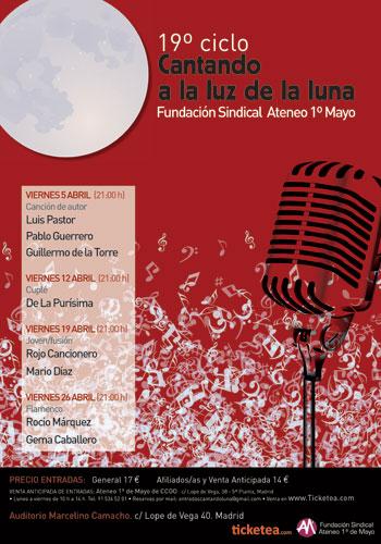 19 festival «Cantando a la luz de la luna» 2013