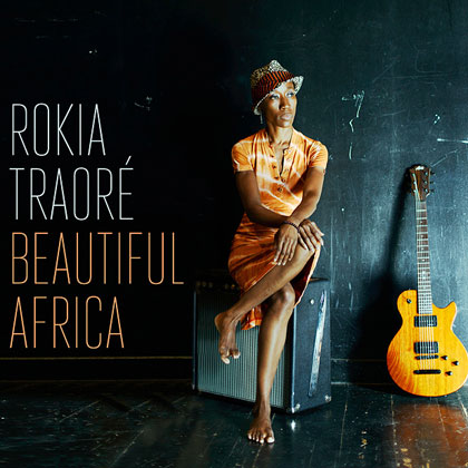 Portada del disco «Beautiful Africa» de Rokia Traoré.