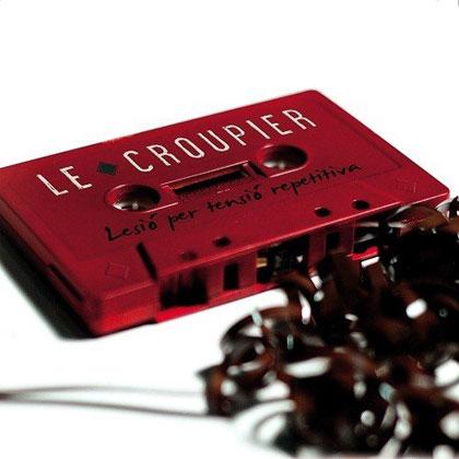 Portada del disco «Lesió per tensió repetitiva» de Le Croupier.