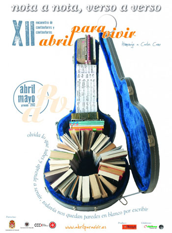 Cartel XII Festival Abril para vivir 2013