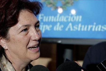 La periodista Beatriz Pécker. © EFE
