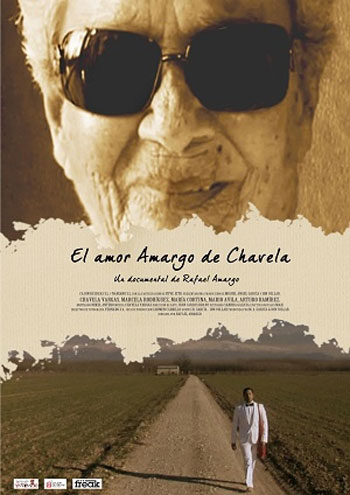 Cartel de la película «El amor amargo de Chavela».