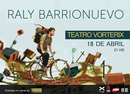 Raly Barrionuevo en el Vorterix.