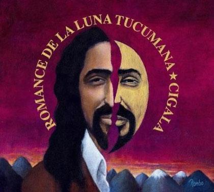Portada del disco «Romance de la Luna Tucumana» de Diego El Cigala.